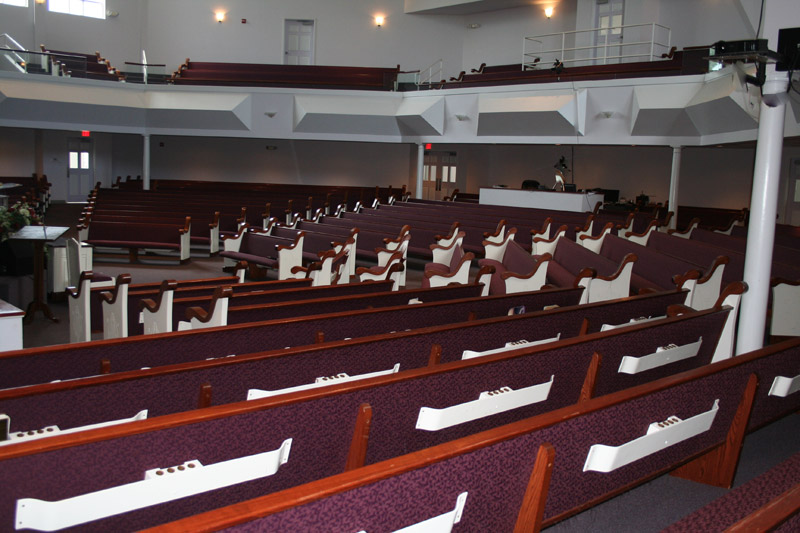 King Church Furniture Installs Church Pews For Greater Beaulah Baptist Church In Dothan Alabama