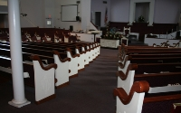 Greater Beulah Church Pews